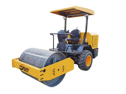 宜迅3.5吨单钢轮压路机