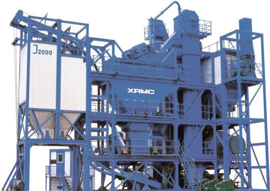 中交西筑J2000集装箱式沥青混合料搅拌设备高清图 - 外观