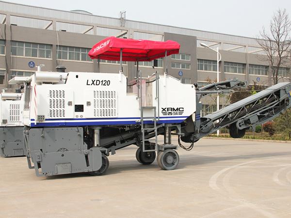 威琈特LXD120沥青路面铣刨机高清图 - 外观