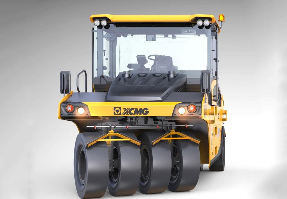 徐工XP265S轮胎压路机高清图 - 外观