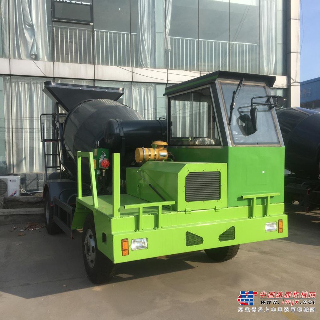 宜迅YX- 2500自制2.5方混凝土搅拌车高清图 - 外观