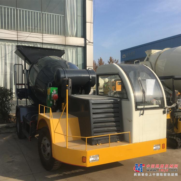 宜迅YX- 3500自制3.5方混凝土搅拌车高清图 - 外观