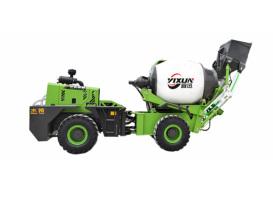 宜迅YX-3000全自动上料3吨混凝土搅拌车