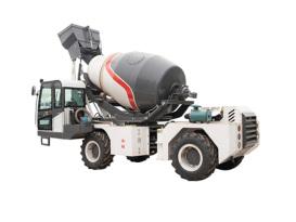宜迅YX-4000全自动上料4吨混凝土搅拌车