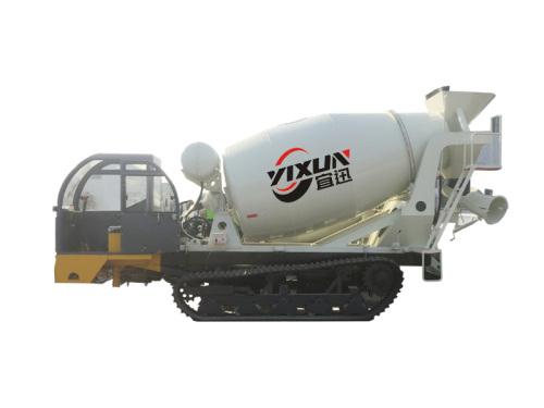 宜迅YX-2000履带2方混凝土搅拌车