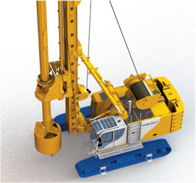 德国宝峨BG 28专用型旋挖钻机 (BT 70 主机)