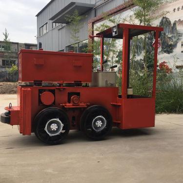 宜迅YX-2T蓄电池矿用电机车高清图 - 外观
