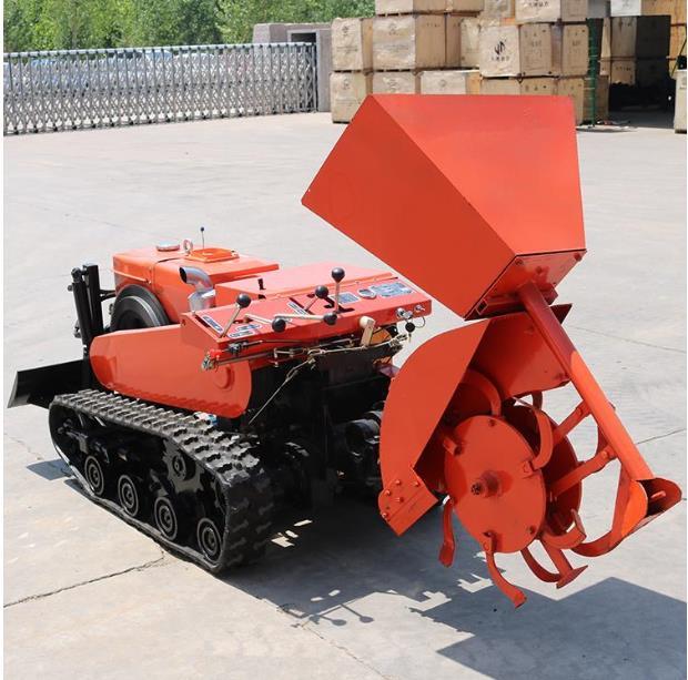 宜迅YX-558多功能履带微耕机高清图 - 外观