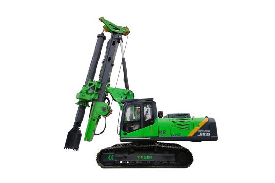 泰信机械KR125ES低净空旋挖钻机