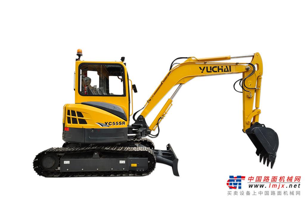 玉柴YC55SR挖掘机高清图 - 外观