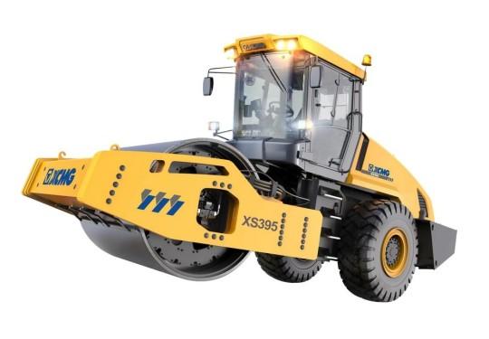 徐工XS395全液压单钢轮振动压路机