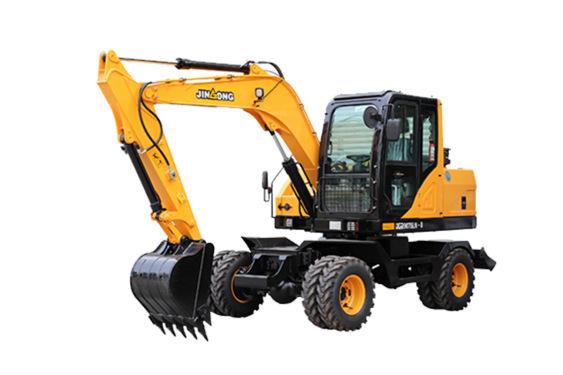 晋工JGM9075LN-8轮胎挖掘机