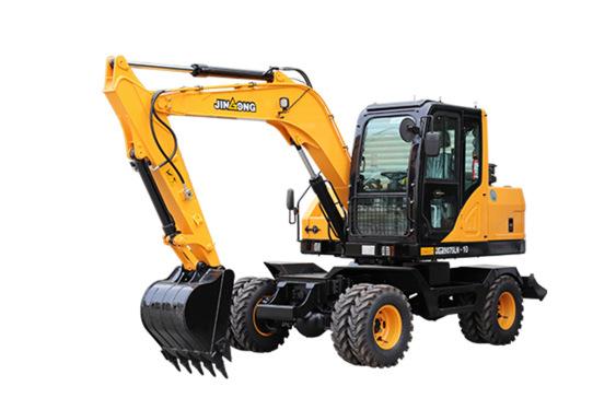晋工JGM9075LN-10轮式挖掘机