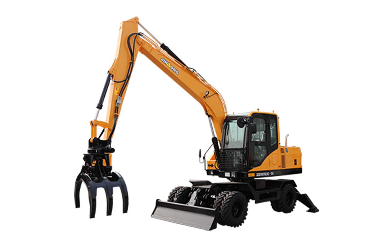晋工JGM9085LNZ-9G轮式挖掘机高清图 - 外观