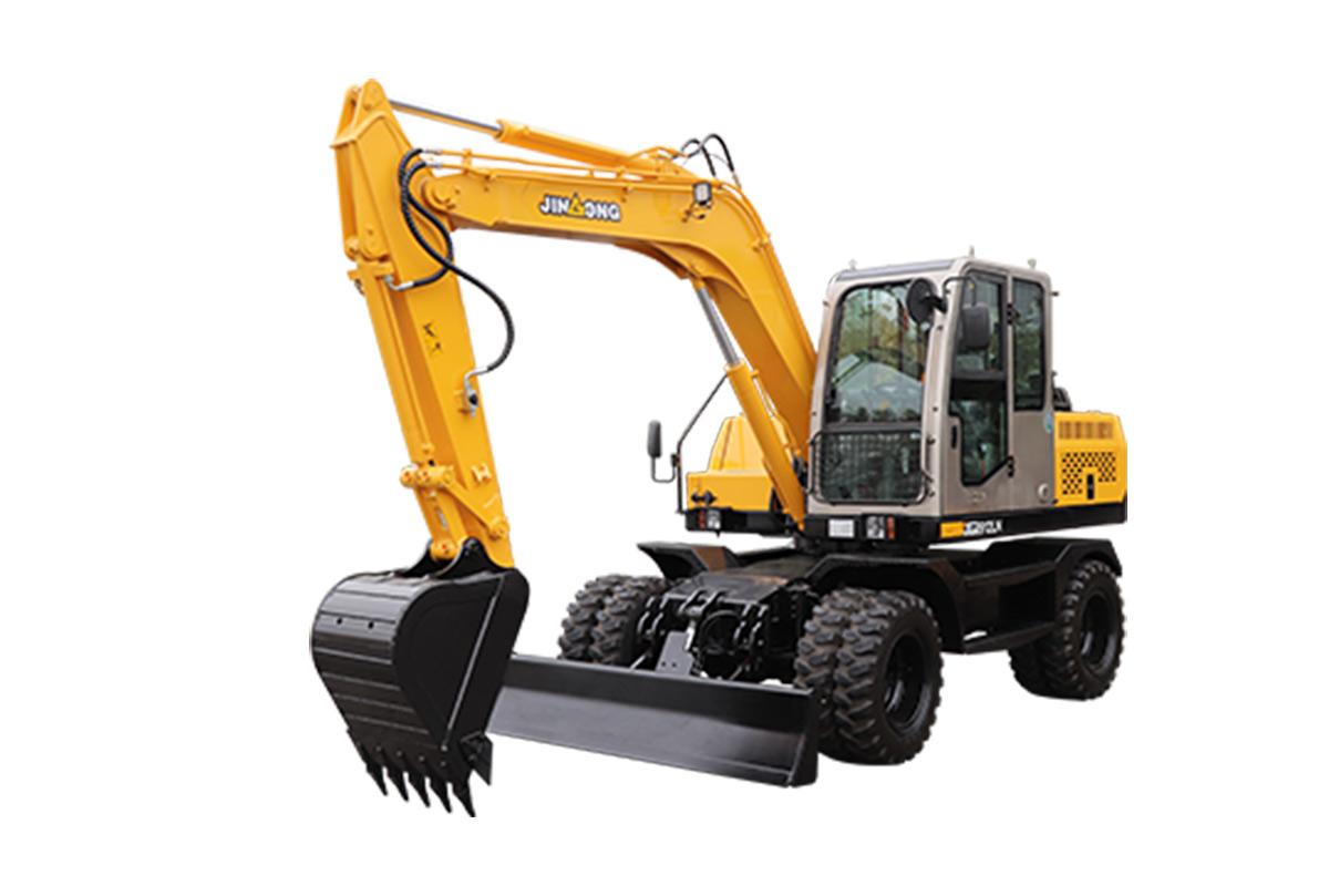晋工JGM912LN轮式挖掘机高清图 - 外观