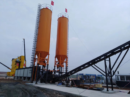 镇江阿伦ARC300E沥青混合料冷再生搅拌设备