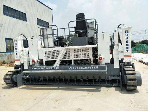 鎮江路機CP8000滑模式水泥攤鋪機