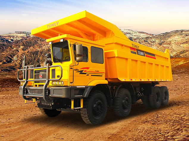 同力重工TL980B非公路宽体自卸车高清图 - 外观