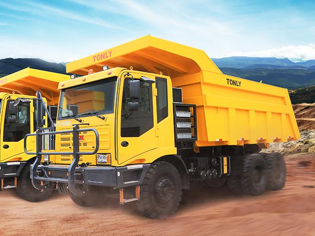 同力重工TLH90C(混联型)非公路宽体自卸车高清图 - 外观