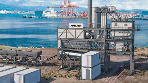 安迈ABT 140-180 QUICKBATCH间歇式沥青搅拌站