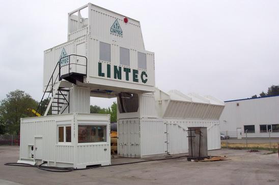 林泰阁CC2000B标准集装箱式水泥混凝土搅拌站