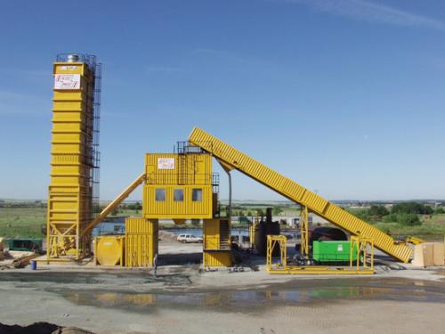 林泰阁CC3000B标准集装箱式水泥混凝土搅拌站