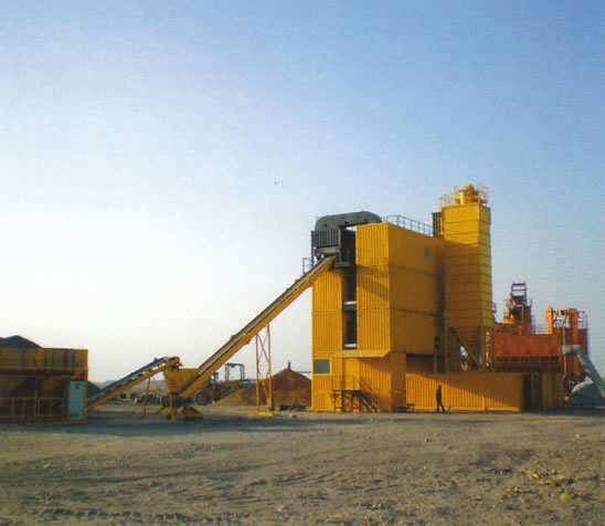 林泰阁CSD2500B型集装箱式沥青混凝土搅拌站高清图 - 外观