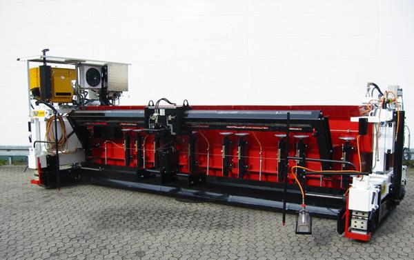 林泰阁EB80/120S浇注式沥青混凝土摊铺机