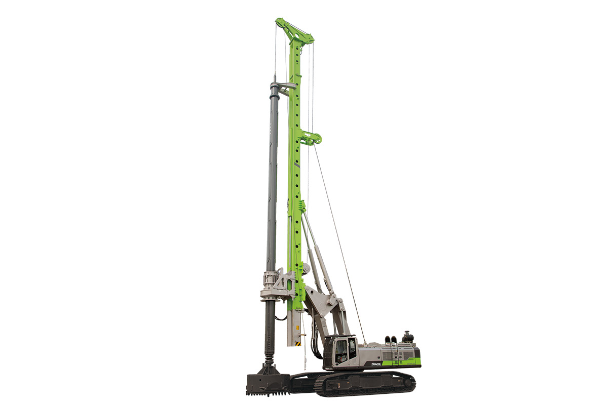 中联重科ZR400L旋挖钻机高清图 - 外观
