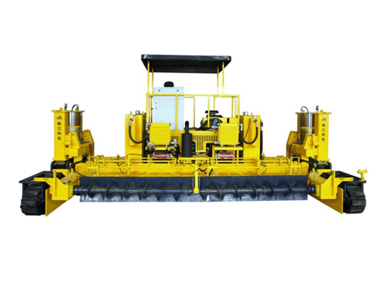 镇江阿伦AHT4000/7500S滑模水泥混凝土摊铺机高清图 - 外观