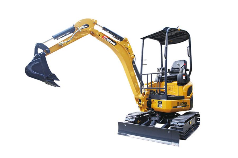 徐工XE17U微型挖掘机