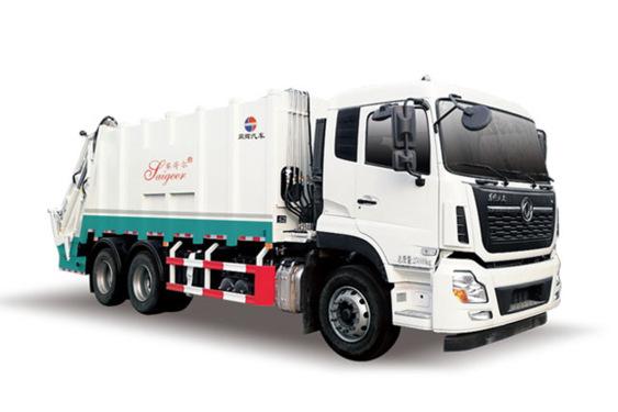 同辉汽车QTH5254ZYS天龙24方国六压缩垃圾车