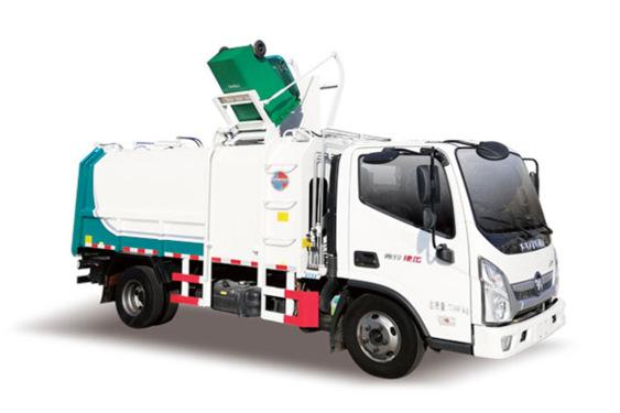 同辉汽车QTH5078ZZZA福田9方国六侧装挂桶式垃圾车
