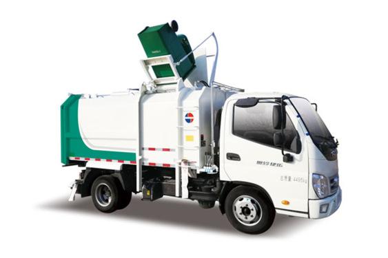 同辉汽车QTH5047ZZZ国六奥铃7方侧装挂桶垃圾车