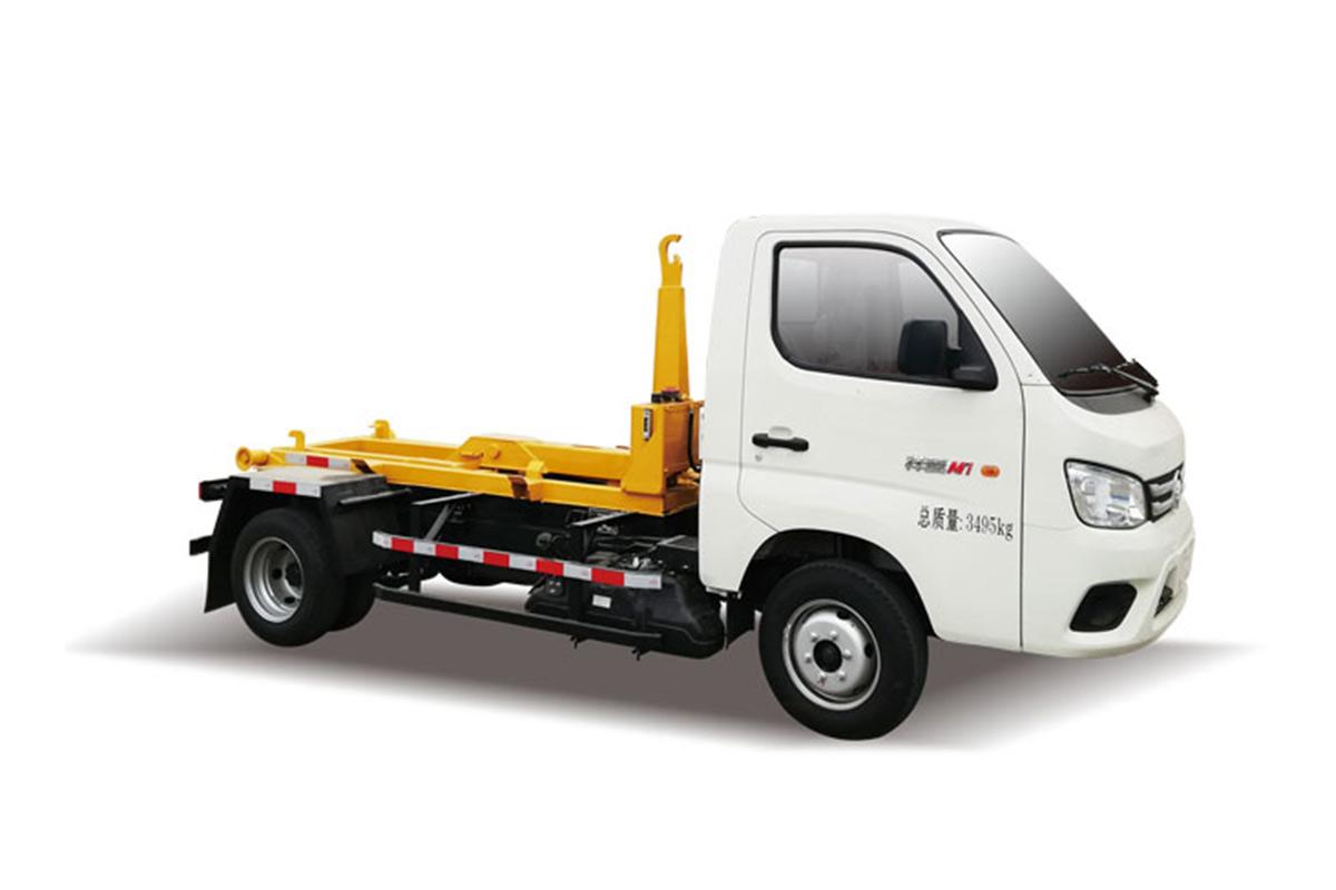 同辉汽车QTH5037ZXX福田车厢可卸式垃圾车高清图 - 外观