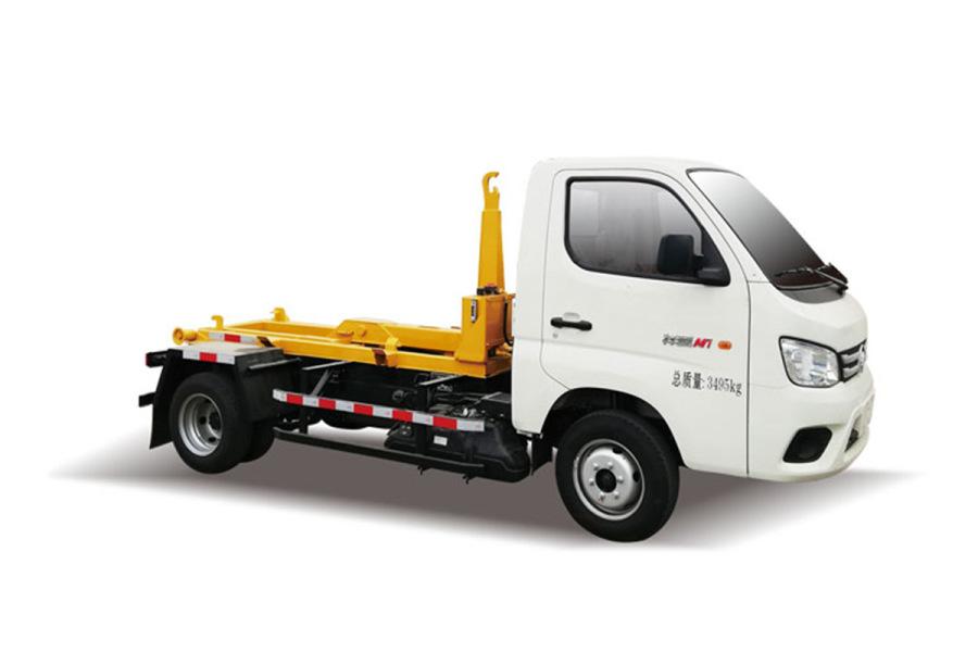 同辉汽车QTH5037ZXX福田车厢可卸式垃圾车