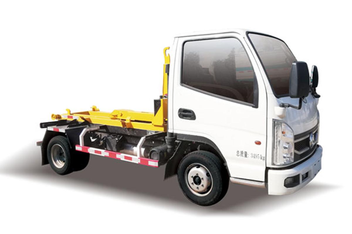 同辉汽车QTH5036ZXX车厢可卸式垃圾车高清图 - 外观