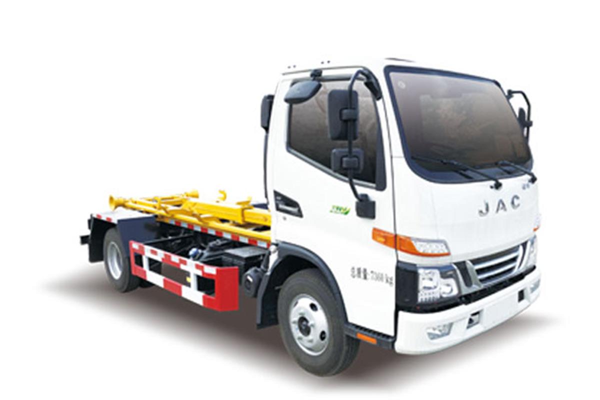 同辉汽车QTH5073ZXX江淮6方车厢可卸式垃圾车高清图 - 外观