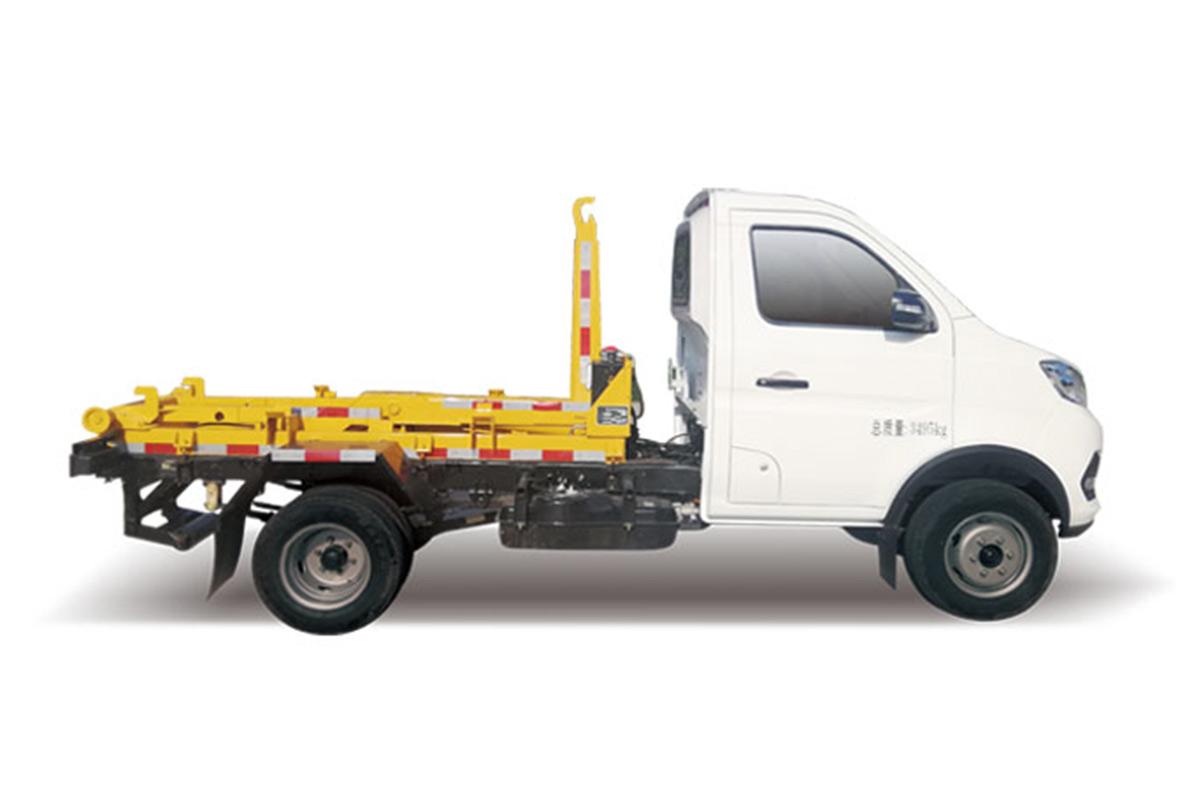 同辉汽车QTH5035ZXX车厢可卸式垃圾车高清图 - 外观