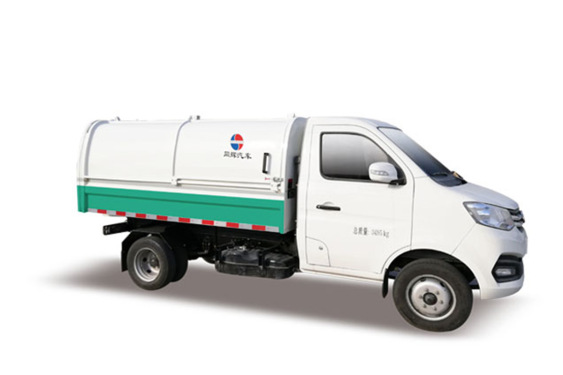 同辉汽车QTH5033ZLJ4方自卸式垃圾车