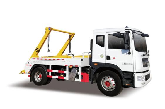 同辉汽车QTH5161ZBS东风国六 7方摆臂式垃圾车
