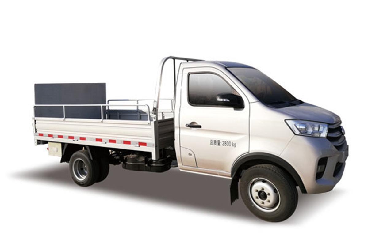 同辉汽车QTH5030CTY桶装垃圾运输车高清图 - 外观