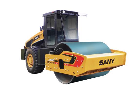 三一重工SSR260AC-8HD26吨全液压单驱单钢轮压路机