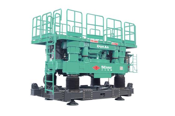 上工机械CRD1605H全回转式全套管钻机