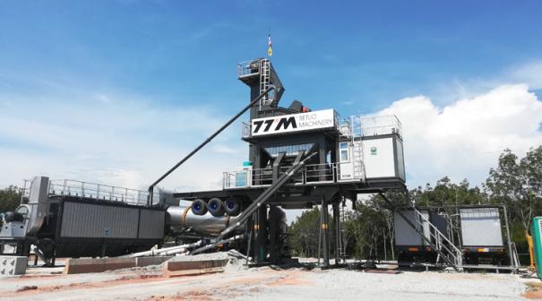 铁拓机械YLB1500系列移动式沥青混合料搅拌设备