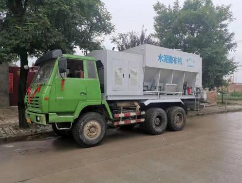 萬里FS-2500智能型散裝水泥撒布機