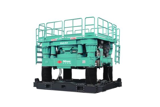 上工机械CRD2005H全回转式全套管钻机