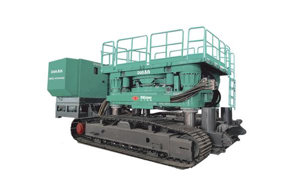 上工机械CRD2106Hz自行走式全回转钻机