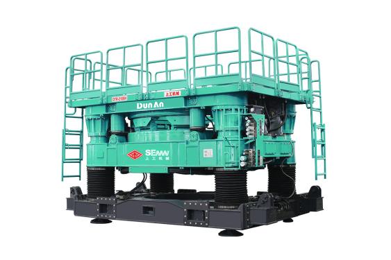 上工机械DTR2106H全回转式全套管钻机