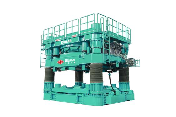 上工机械CRD3205H全回转式全套管钻机